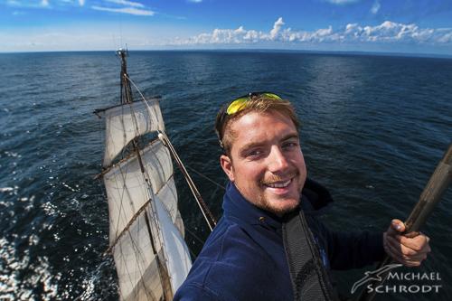 Michael Schrodt segeln mast roald amundsen ozean